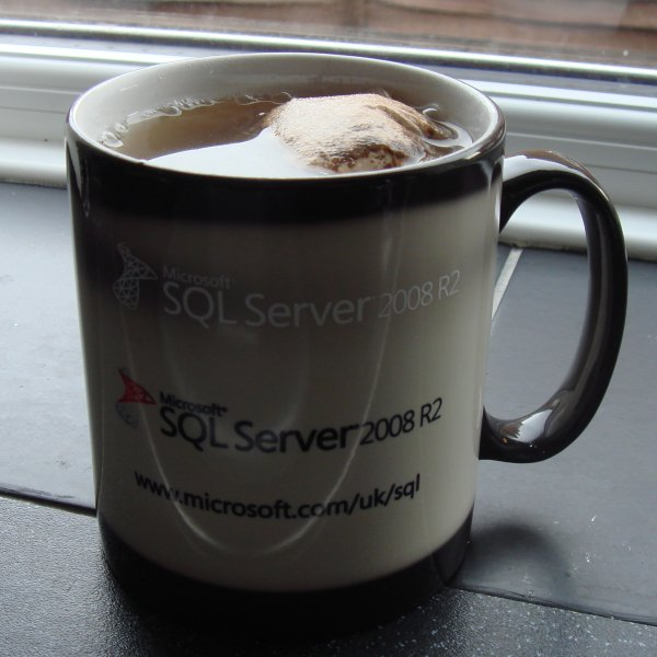 SQL Server 2008 R2 mug